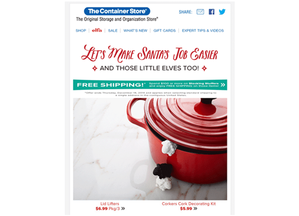 Holiday Email Design Inspiration
